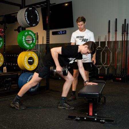 Prepare like a pro forward defenter2 strength conditiong